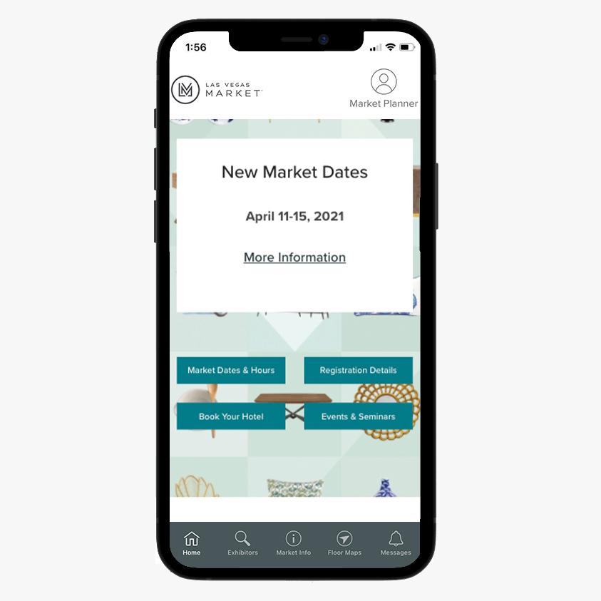 Las Vegas Market App in the Appstore