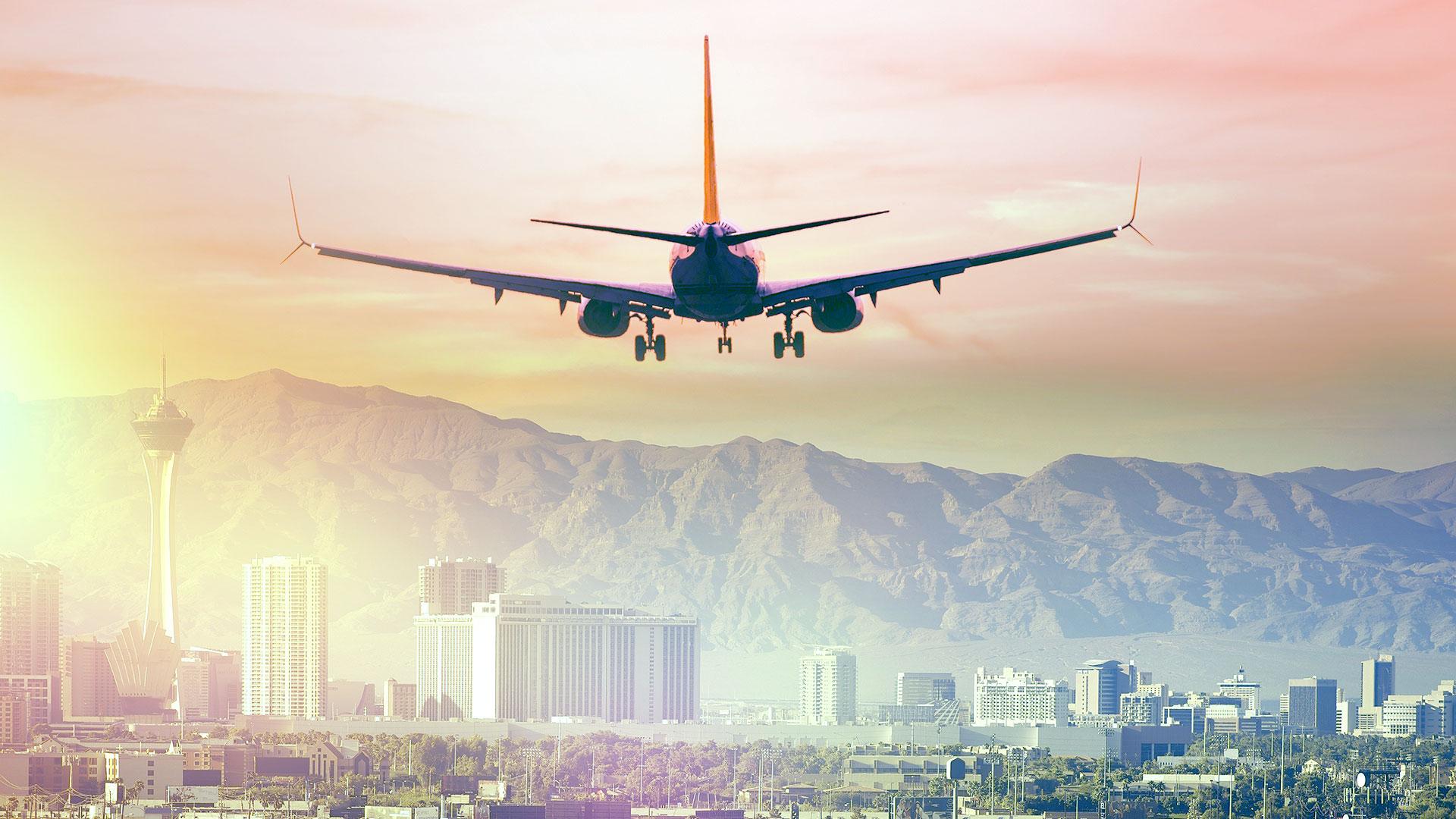 Air Travel at Las Vegas Market
