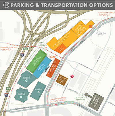 2021 Parking and Transportation Options