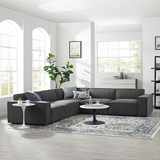Upholstery Sectional at Las Vegas Market