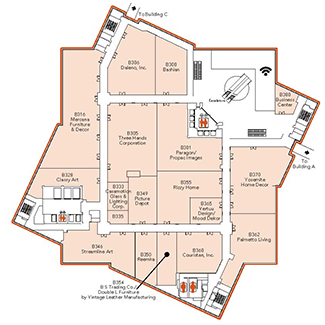 Floor Plans at Las Vegas Market