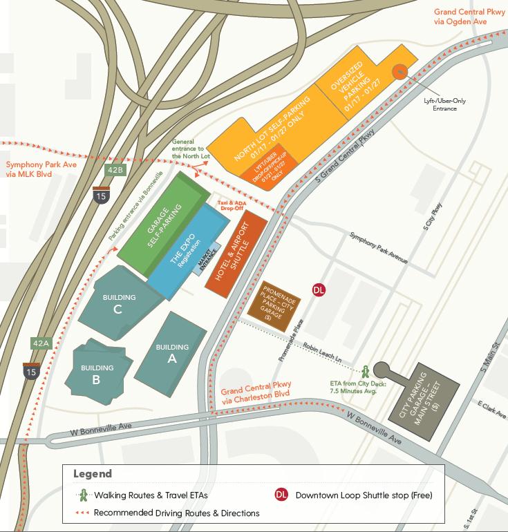 Las Vegas Market Parking