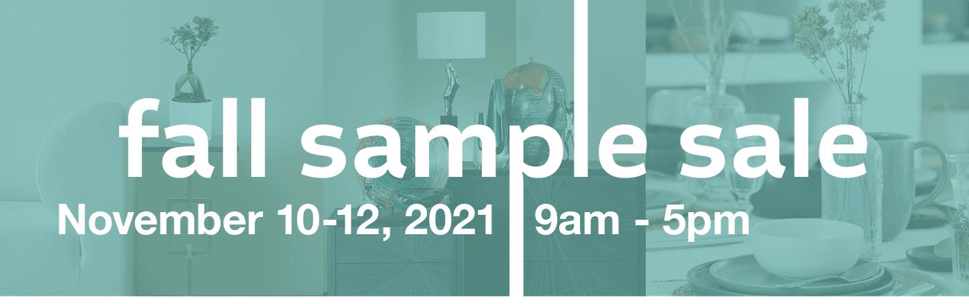 2021 Fall Sample Sale at Las Vegas Market